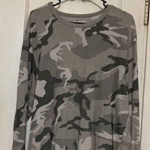 Old Navy long sleeve Light Gray Camo shirt XL